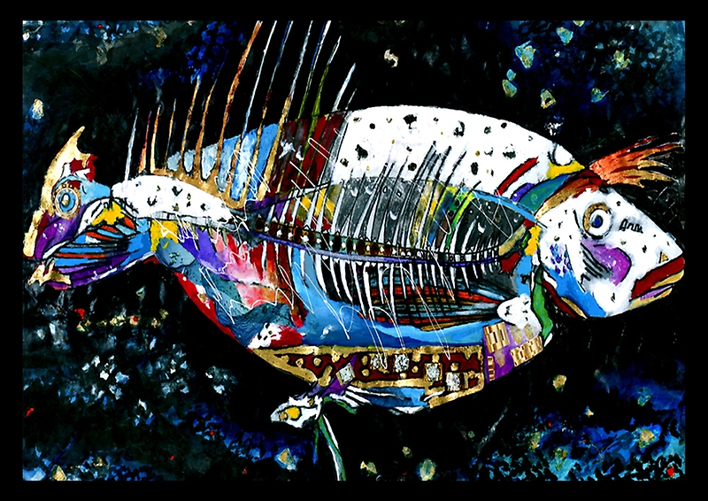 Freaked Out Fish by Cate Townsend
