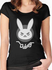 OVERWATCH DVA Women's Fitted Scoop T-Shirt