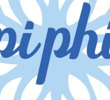 Sorority Snowflake PiPhi Sticker