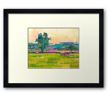 Field X Framed Print