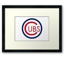 Cubs Framed Print