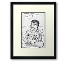 Grief & Suffering Framed Print