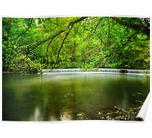 The Olde Mill Weir Poster