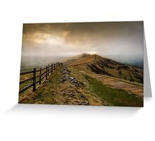 Path from Mam Tor Greeting Card