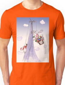 ShardArt Christmas Heave-Ho from Tony Fernandes Unisex T-Shirt