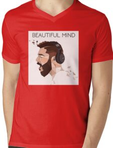 JON BELLION tour 2016 lukiluke LL empat Mens V-Neck T-Shirt