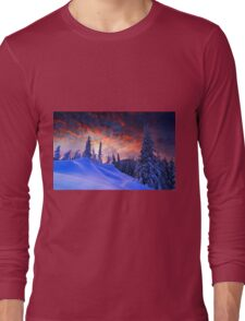 Winter Christmas Long Sleeve T-Shirt