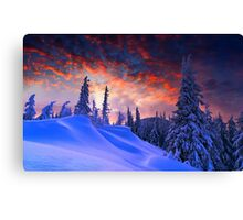 Winter Christmas Canvas Print