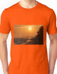 Sunrise at the seaside Unisex T-Shirt