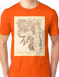 USGS TOPO Map California CA Shasta Valley Sheet No 2 295157 1921 24000 geo Unisex T-Shirt