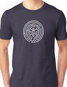 Maze - White Unisex T-Shirt