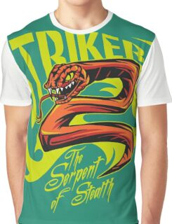 Striker - The Serpent Of Stealth Graphic T-Shirt