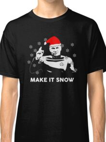 make it snow Classic T-Shirt