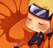 Sleeping Naruto Sticker