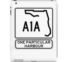 There's this one particular harbour... iPad Case/Skin