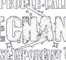 Some people call me a mechanic the most important call me dad - T-shirts & Hoodies Sticker