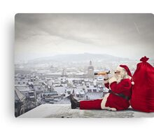Santa Clause Canvas Print