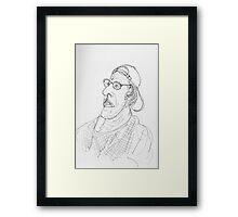 quiet wisdom Framed Print