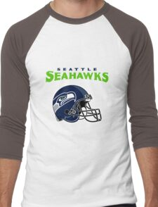 SEATTLE SEAHAWKS FC Men's Baseball ¾ T-Shirt