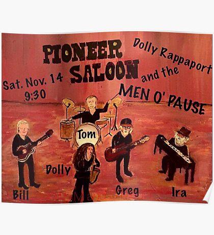 Port Dahlia Pioneer Saloon Poster