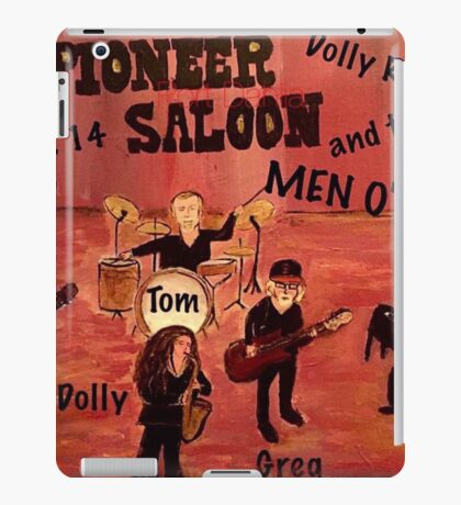 Port Dahlia Pioneer Saloon iPad Case/Skin