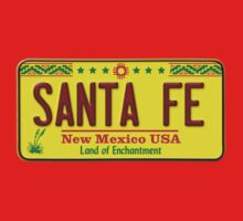 Santa Fe, New Mexico USA License Plate by MuralDecal