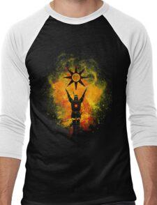 Praise the sun Men's Baseball ¾ T-Shirt