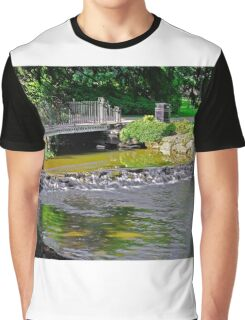 River Wye Through  Buxton Pavilion Gardens Graphic T-Shirt