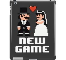 New Game - Newly Wed Gaming Couple iPad Case/Skin