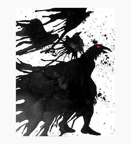 Ravens Call Photographic Print