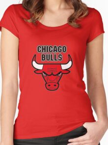 Chicago Bulls club Women's Fitted Scoop T-Shirt