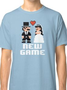 New Game - Newly Wed Gaming Couple Classic T-Shirt