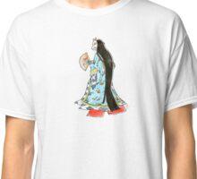 Japanese Heian Kimono Fox Mask Classic T-Shirt
