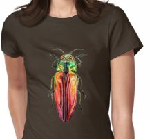 Red Beetle: Belionota mniszechi Womens Fitted T-Shirt