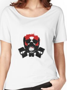 Skull with Mask Women's Relaxed Fit T-Shirt
