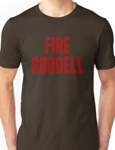 Fire Goodell Shirt Unisex T-Shirt