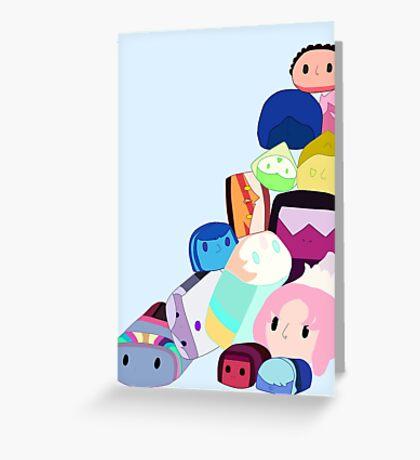 Steven Universe Gem Tsum Greeting Card