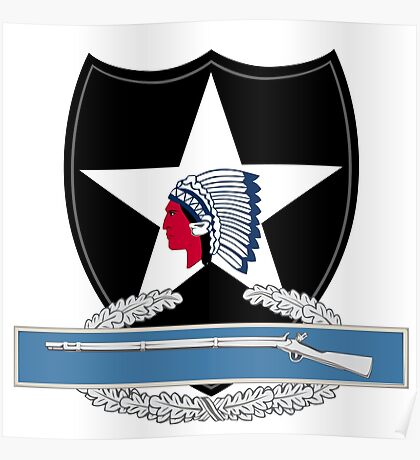 2nd Infantry Combat Infantry Badge (CIB) Poster