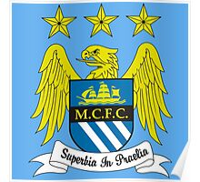 Manchester City club Poster