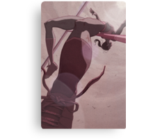 Olympic High Jump Canvas Print
