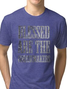 Blessed are the cheesemakers | Cult TV Tri-blend T-Shirt