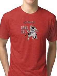 Thor Hammer curls Tri-blend T-Shirt
