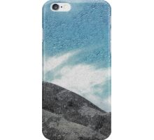 The Etched Mountains  iPhone Case/Skin