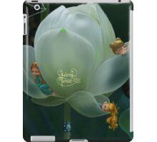 Lotus blanc  iPad Case/Skin