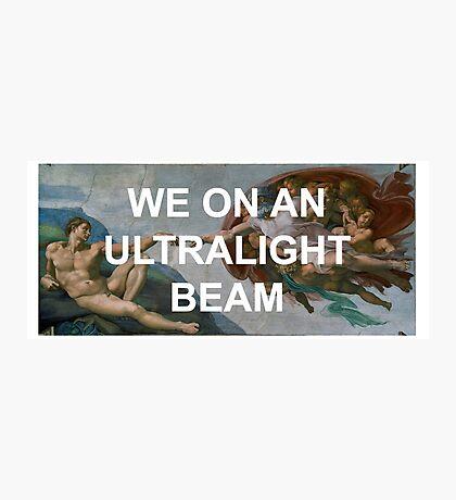 We On An Ultralight Beam Photographic Print