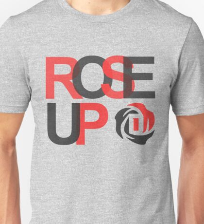 rose up - derrick rose Unisex T-Shirt