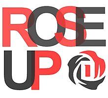 rose up - derrick rose Photographic Print