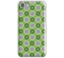 PANTONE COLOUR OF THE YEAR 2017|GREENERY CIRCLES OF GREENERY iPhone Case/Skin