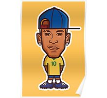 Neymar, Brazil Poster