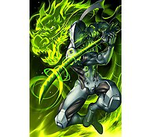 OVERWATCH GENJI Photographic Print